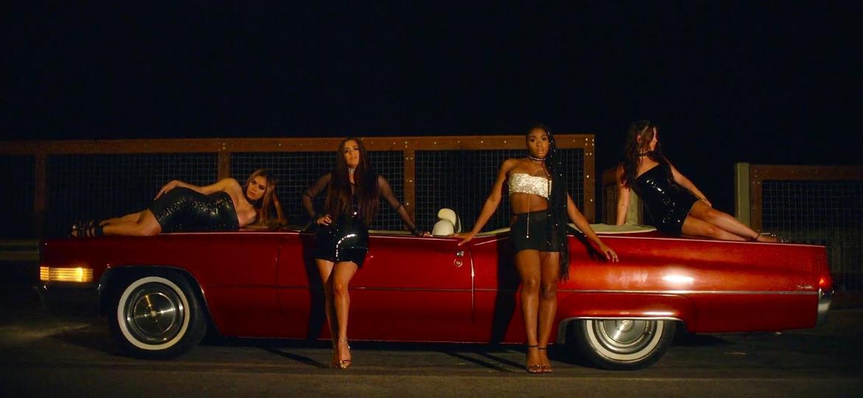 """Cena do clipe """"Angel"""", do grupo Fifth Harmony - Reprodução"""