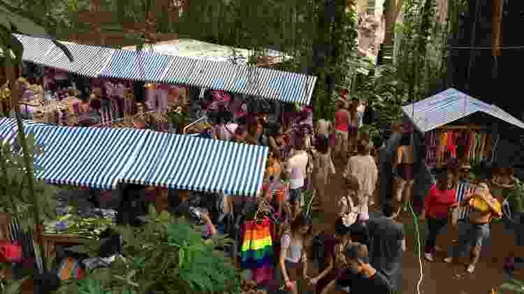 Feira de Carnaval Rio foto de cima - Giovani Lettiere/UOL - Giovani Lettiere/UOL