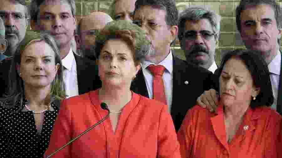 """Cena de """"O Processo"""", documentário sobre o impeachment de Dilma Rousseff - Divulgação"""