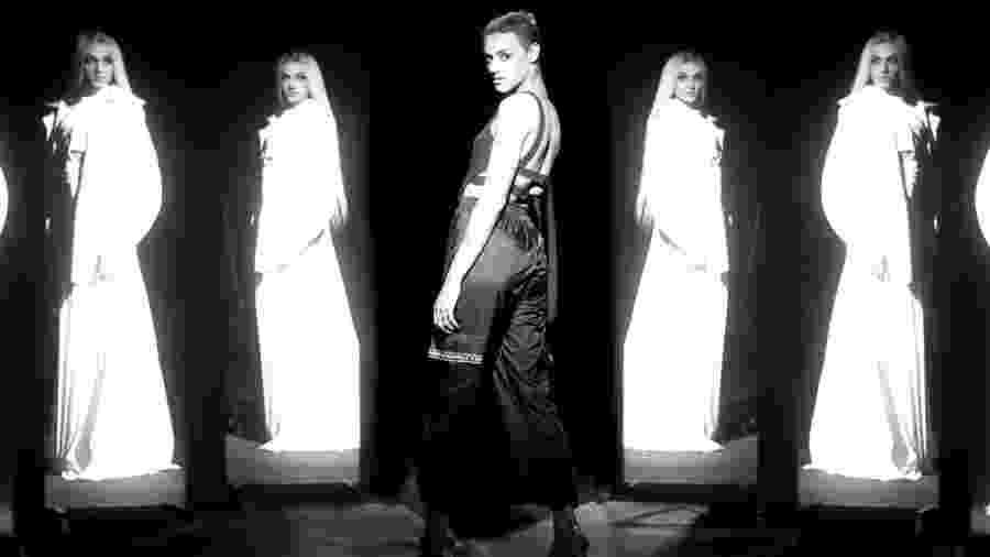"""A cantora Pabllo Vittar em cena do clipe de """"Indestrutível"""" - Reprodução/YouTube"""