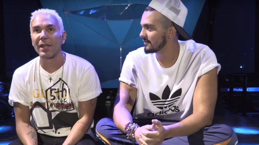 Mattheus Massafera entrevista Luan Santana - Reprodução/Youtube