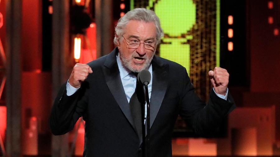 """Robert de Niro diz """"Foda-se Trump"""" em premiação e é ovacionado - REUTERS/Lucas Jackson"""