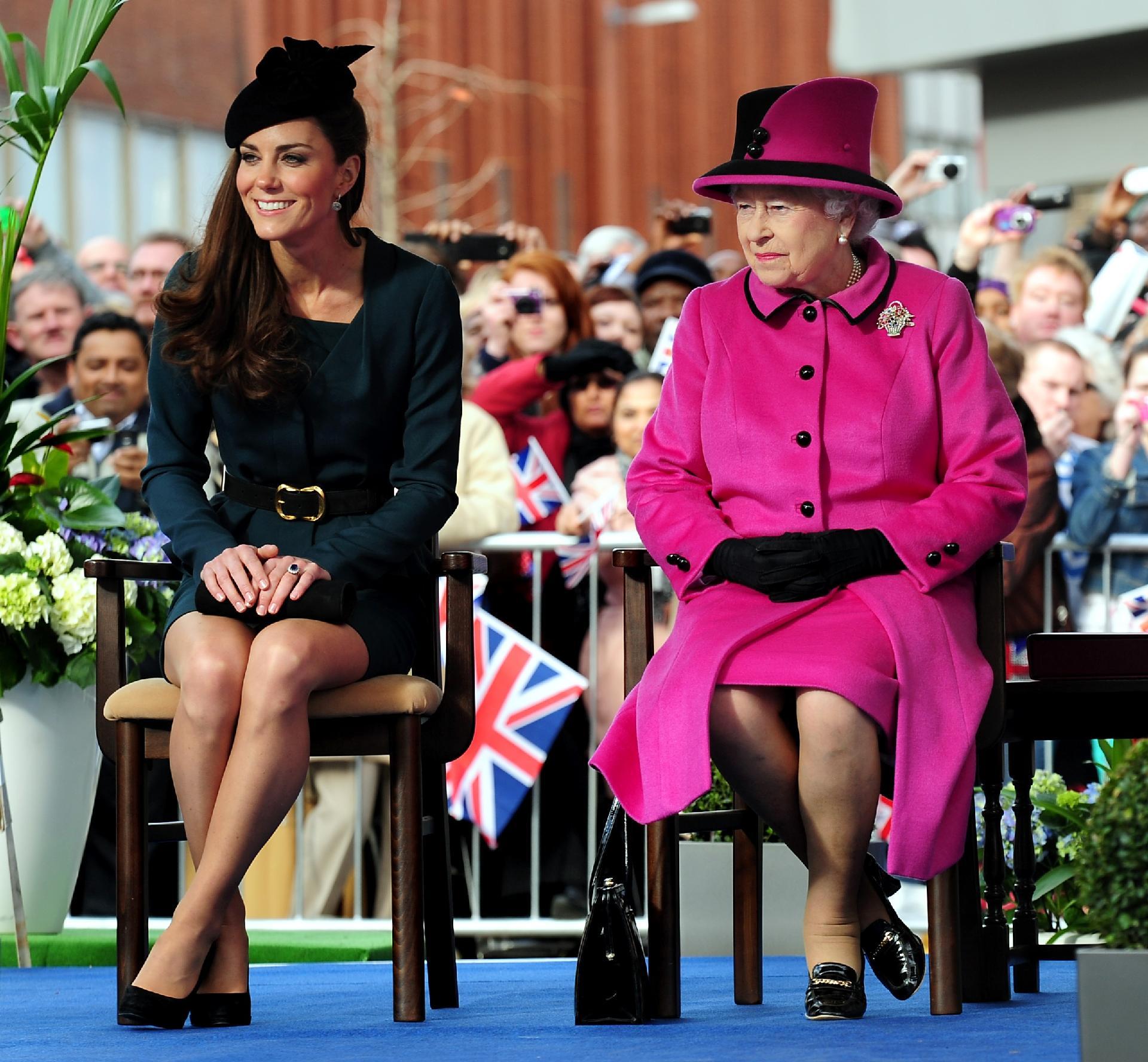 Kate Middleton recebe título que foi da Rainha Elizabeth por 67 anos
