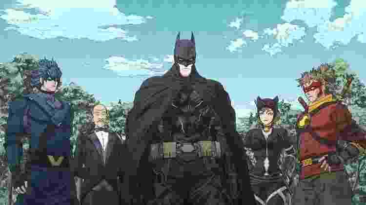 """Cena da animação """"Batman Ninja"""" - Reprodução - Reprodução"""