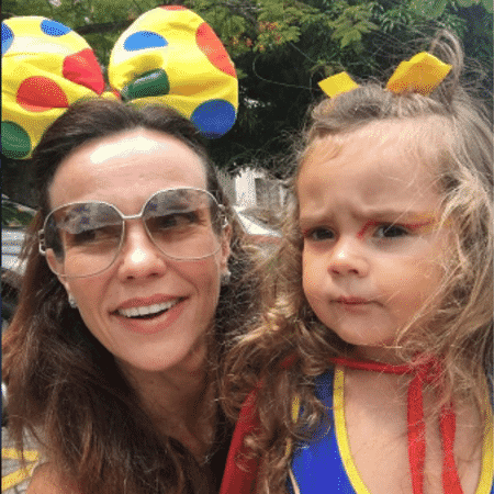 Flavia Monteiro e Sophia - Reprodução/Instagram