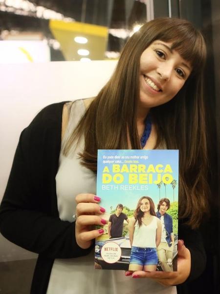 "Beth Reekles, autora de ""A Barraca do Beijo"" - Iwi Onodera/UOL"
