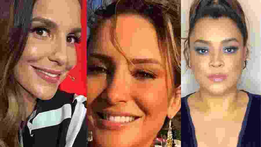 Ivete, Claudia Leitte e Preta Gil - Reprodução/Instagram