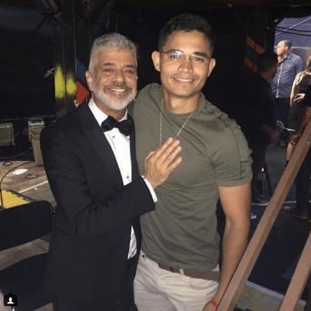 Lulu Santos e o namorado, Clebson Teixeira - Reprodução/Instagram