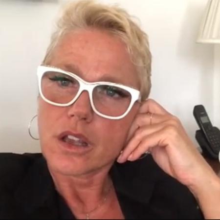 Xuxa desabafou após fazer show em Fortaleza e não conseguir voltar para casa - Reprodução/Instagram