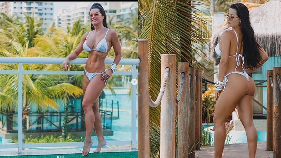 """A ex-bailarina do Faustão Fernanda D""""avila - Reprodução/Instagram"""
