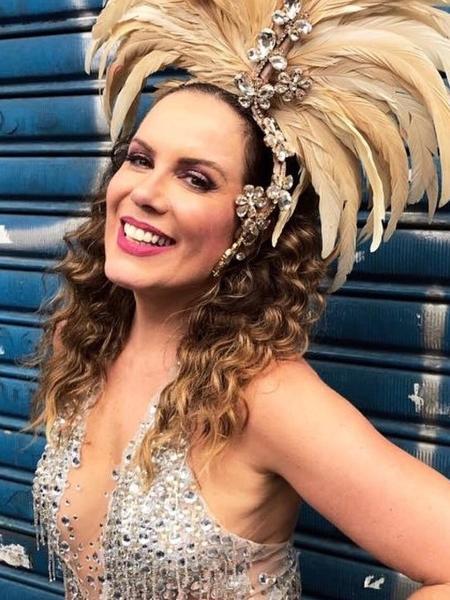 Regina Volpato participa de bloco em SP e desfila pela Vilsa Isabel no Rio - Divulgação