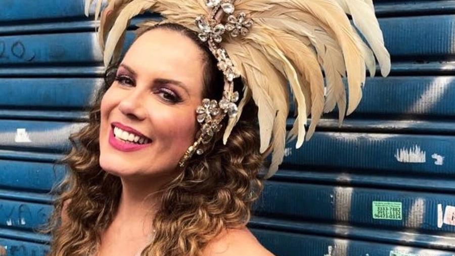 Regina Volpato assistirá aos desfiles de São Paulo e desfilará pela Vila Isabel, no Rio - Divulgação