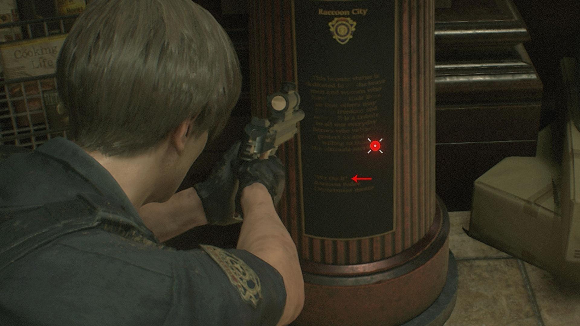 """- reproducaogamehall 1549460724758 v2 1920x1 - 10 'easter eggs' de """"Resident Evil 2"""" que você talvez não tenha percebido"""