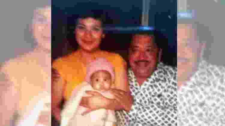 A família de Bertha - Arquivo Pessoal/Bertha Loaiza/BBC  - Arquivo Pessoal/Bertha Loaiza/BBC