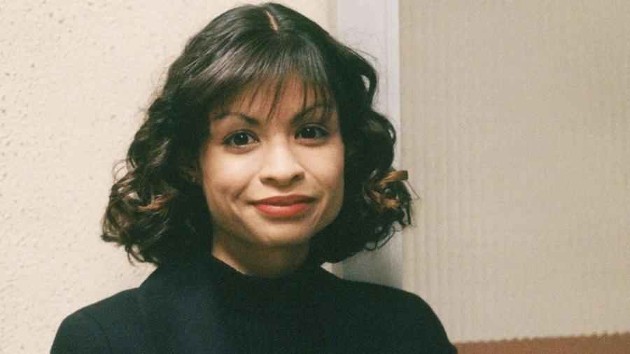 A atriz Vanessa Marquez morta com um tiro da polícia - Divulgação