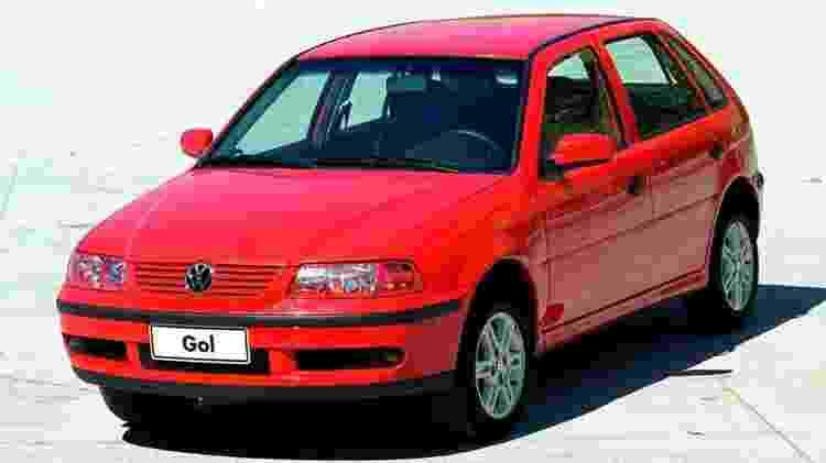 Volkswagen Gol 2002 - Divulgação - Divulgação