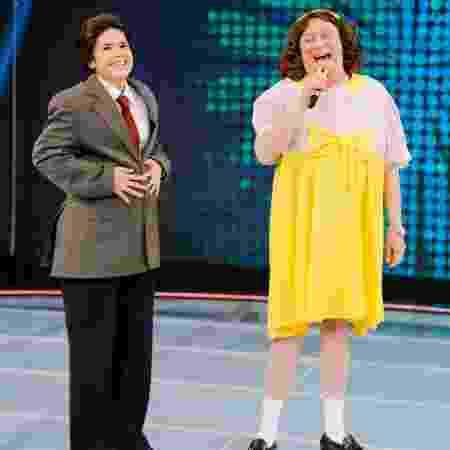 Maisa se veste de Raul Gil e Raul Gil se veste de Maisa no SBT - Rodrigo Belentani/SBT