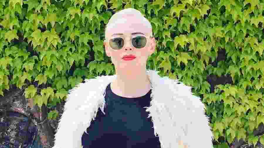 Rose McGowan é uma das principais vozes do #MeToo - Reprodução/Instagram
