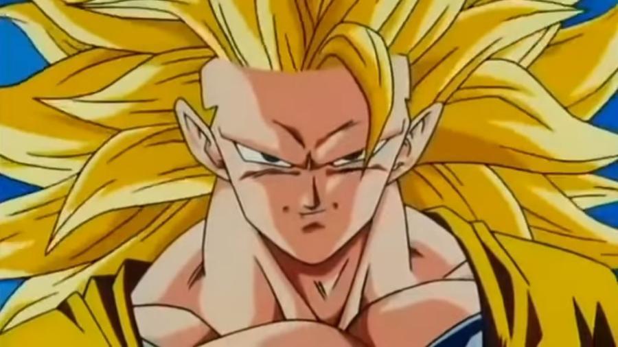 Goku Super Sayajin nível 3  - Reprodução