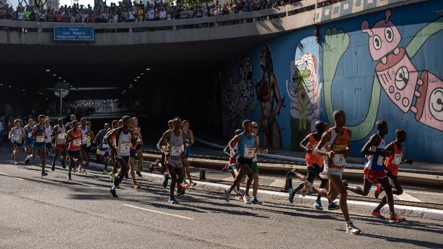 Corrida Internacional de São Silvestre  - Avener Prado/folhapress