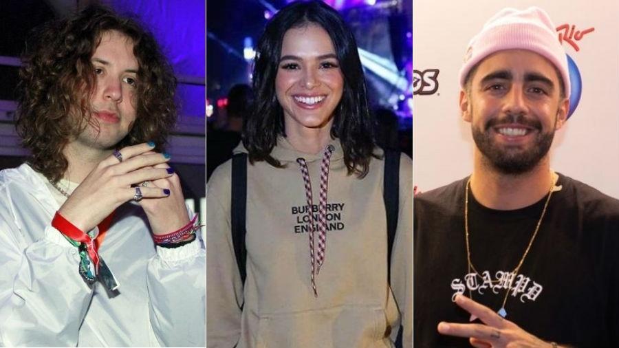 Rock in Rio 2019: Lucas Jagger, Bruna Marquezine e Pedro Scooby curtiram o festival - AgNews/Reginaldo Teixeira/Divulgação