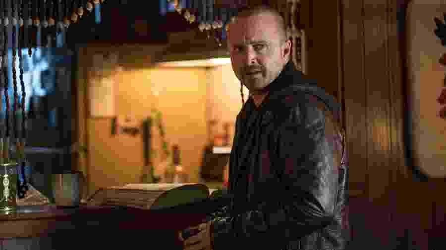 Jesse Pinkman (Aaron Paul) em cena do filme El Camino: A Breaking Bad Movie - Ben Rothstein / Netflix