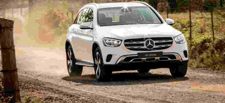 Novo GLC agora vem com motor a diesel, que entrega mais torque e robustez; tração integral o capacita para a terra - Divulgação/Mercedes-Benz