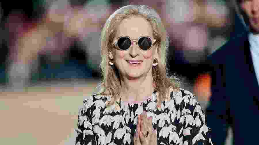 A atriz Meryl Streep será uma das anfitriãs do MET Gala 2020 - Geoff Robins / AFP