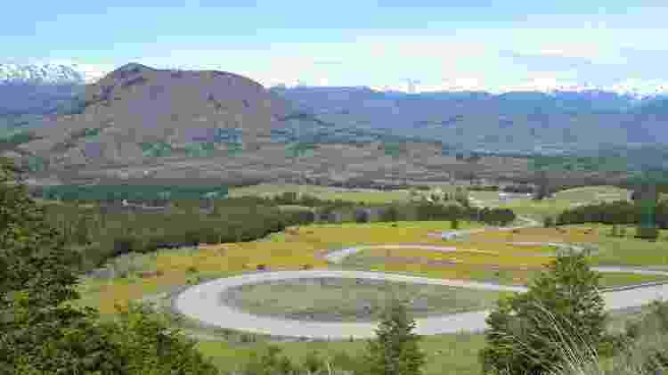 A vista da Carretera Austral - Mari Campos/UOL - Mari Campos/UOL
