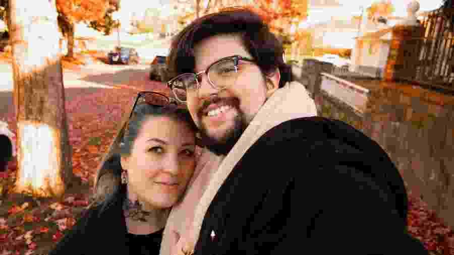 Bianca Bittencourt e o marido, Vinícius Bittencourt - Arquivo Pessoal