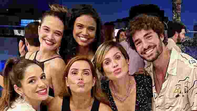 Atores do elenco da novela Salve-se Quem Puder - REPRODUÇÃO/INSTAGRAM - REPRODUÇÃO/INSTAGRAM