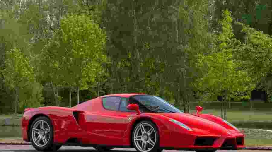 Segunda Ferrari Enzo feita na história vai a leilão na Inglaterra - Divulgação
