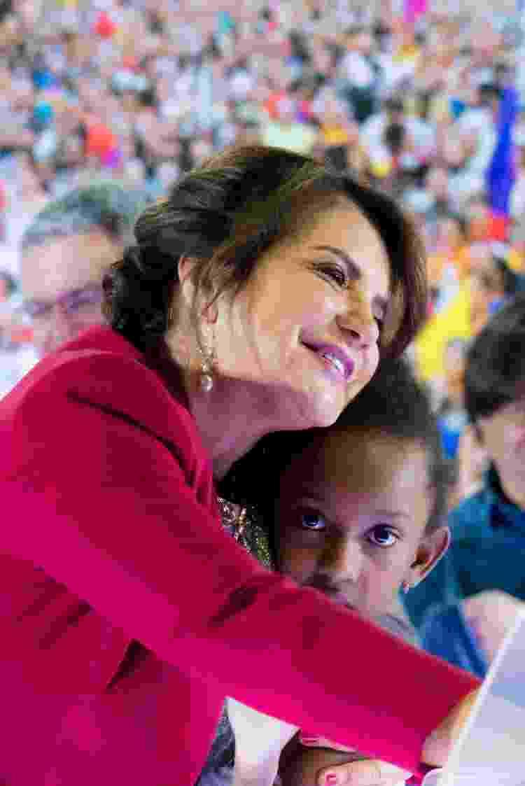 a deputada Bebel, presidenta da APEOESP, e sua filha Maria Manoela - Glória Flugel/Divulgação - Glória Flugel/Divulgação