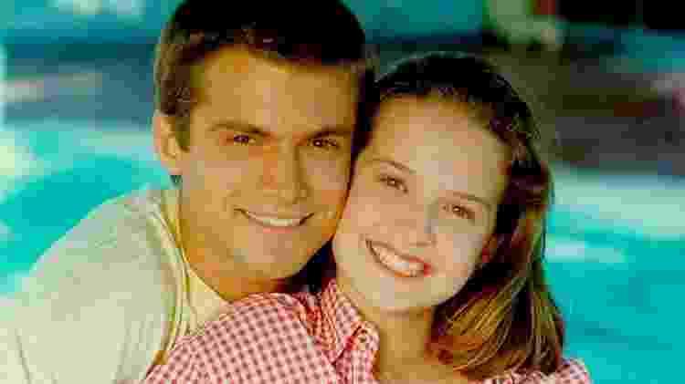Claudio Heinrich e Fernanda Rodrigues em 'Malhação' - Reprodução - Reprodução