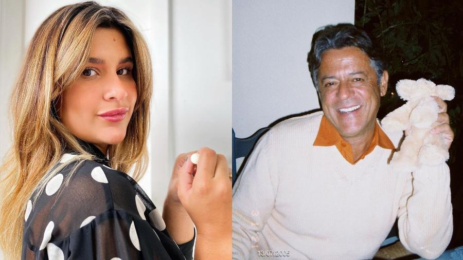 Giulia Costa homenageia o pai, Marcos Paulo no dia de seu aniversário - Imagem: Reprodução/Instagram@giuliacosta