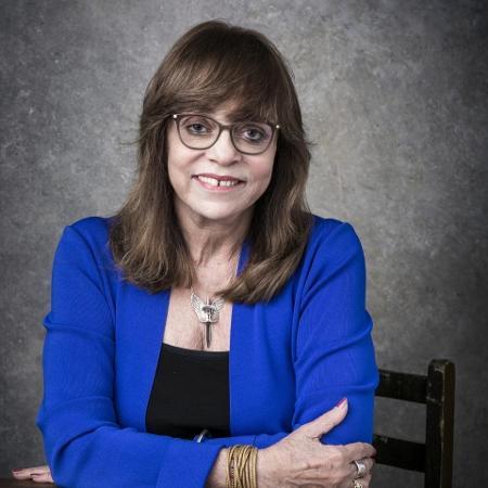 A autora de novelas Glória Perez - Sergio Zalis/Globo