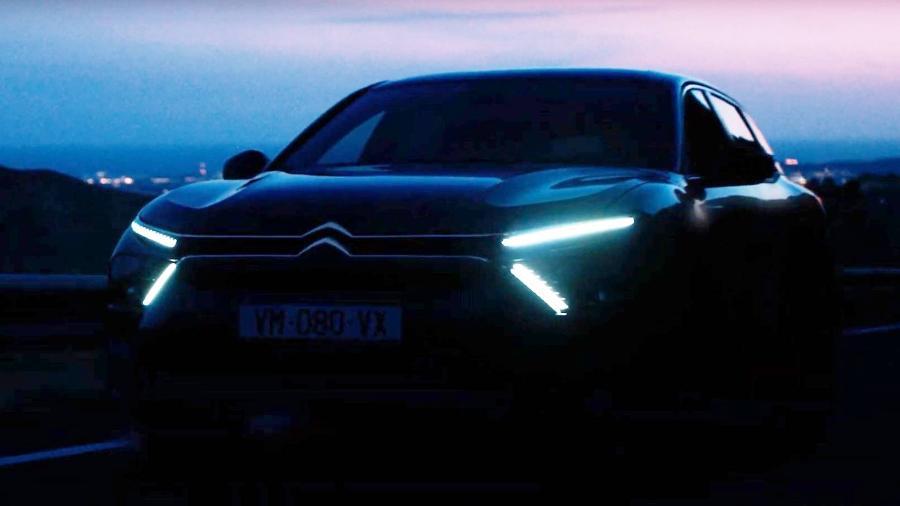 Citroën C5 teaser - Divulgação