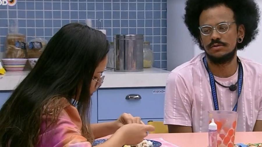 BBB21: João e Juliette falam sobre a formação do paredão - Reprodução/Globoplay