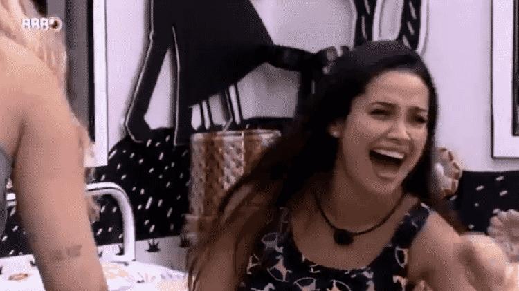 BBB 21: Juliette cai no riso ao ver Gilberto chateado com Arthur - Reprodução/Globoplay - Reprodução/Globoplay