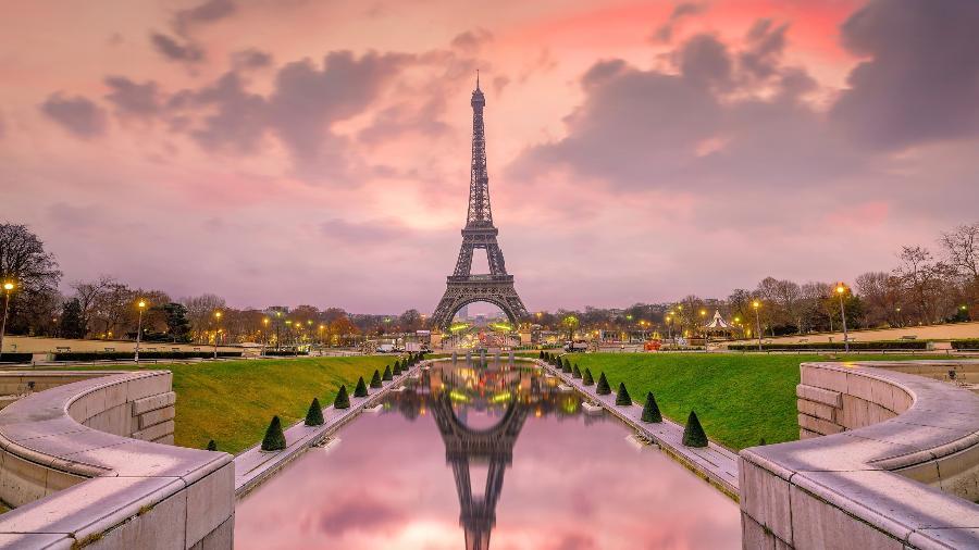 Torre Eiffel em Paris, na França - Getty Images/iStockphoto