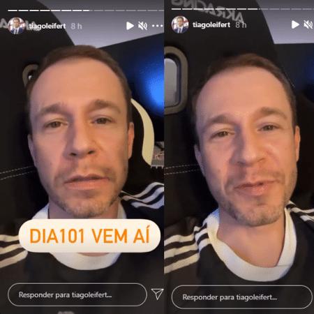 """BBB 21: Tiago Leifert comenta o especial """"BBB Dia 101"""" - Reprodução/Instagram"""