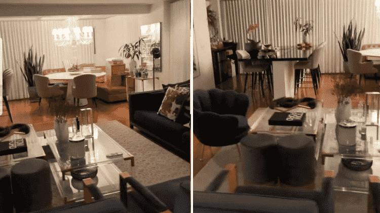 Rafa Kalimann volta para apartamento em SP e mostra detalhes da decoração - Reprodução - Reprodução