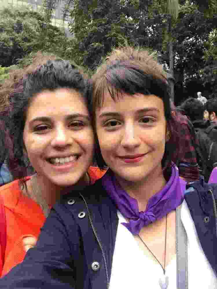 Milena e Priscilla - Arquivo Pessoal - Arquivo Pessoal