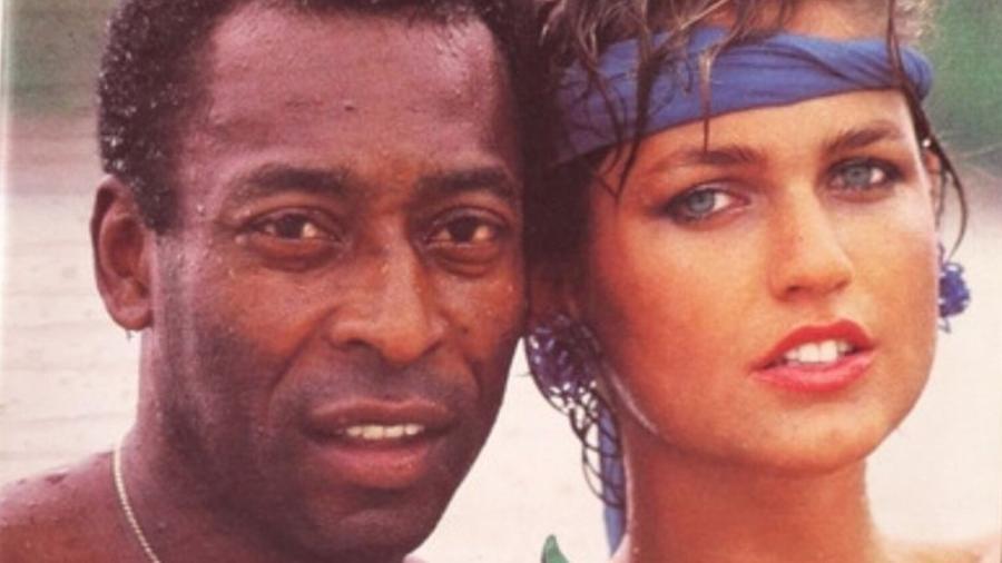 Pelé e Xuxa na capa da revista Manchete - Divulgação/Manchete