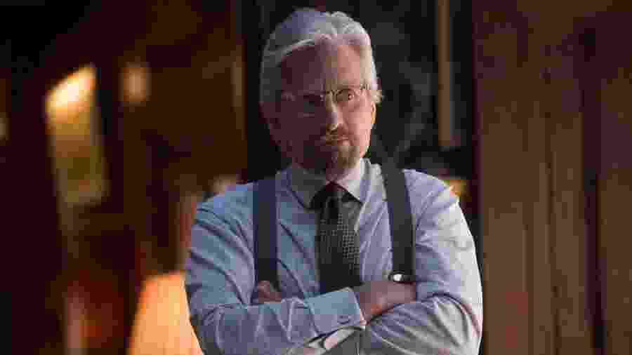 "Em ""Homem-Formiga"", o ator Michael Douglas interpreta Hank Pyn - Zade Rosenthal/Marvel"