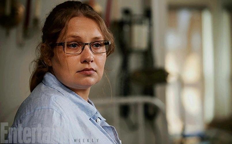 """29.jul.2015 - A atriz Merritt Wever será a médica Denise Cloyd, personagem que já aparece nas histórias em quadrinhos de Robert Kirkman, em que """"Walking Dead"""", é baseada."""