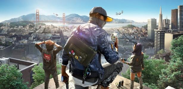 """""""Hacktivistas"""" vão à luta para salvar a independência dos cidadãos de San Francisco - Divulgação/Ubisoft"""