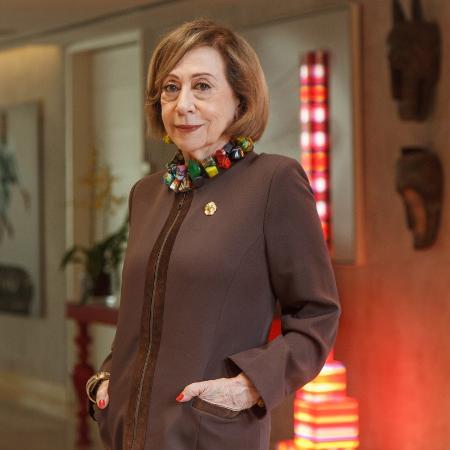 "Fernanda Montenegro está no elenco de ""O Outro Lado do Paraíso"" - Artur Meninea/TV Globo"