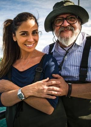 """Giovanna Antonelli e Luis Melo em """"Sol Nascente"""" - João Miguel Júnior/TV Globo"""