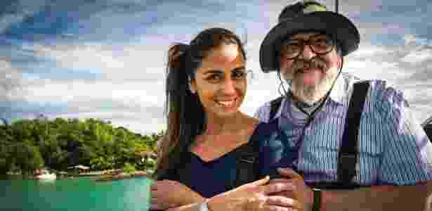 """Giovanna Antonelli é Alice, filha do imigrante japonês Kazuo Tanaka (Luis Melo) em """"Sol Nascente"""". - João Miguel Júnior/TV Globo"""